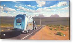 Heading South Towards Monument Valley Acrylic Print