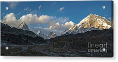 Acrylic Print featuring the photograph Heading To Everest Base Camp by Mike Reid