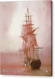 Acrylic Print featuring the photograph Heading To Salem From The Sea by Jeff Folger