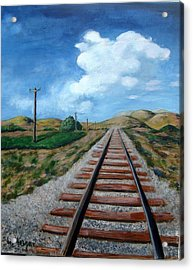Heading West Acrylic Print