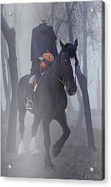 Headless Horseman Acrylic Print by Christine Till