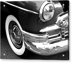 Headlight Acrylic Print by Audrey Venute