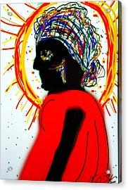 Headscarf Acrylic Print
