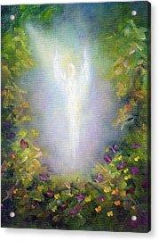 Healing Angel Acrylic Print by Marina Petro