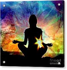 Healing Energy Acrylic Print