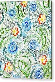 Healing Garden Acrylic Print