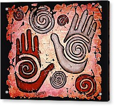 Healing Hands Acrylic Print