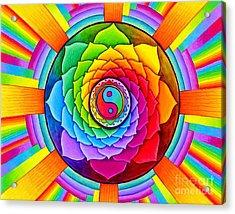Healing Lotus Acrylic Print