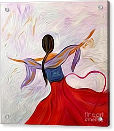 Healing Love Acrylic Print