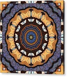Healing Mandala 16 Acrylic Print by Bell And Todd