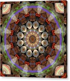 Healing Mandala 30 Acrylic Print