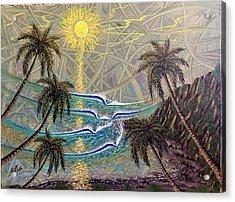 Healing Sunset Acrylic Print