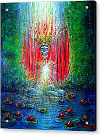 Acrylic Print featuring the painting Healing Waters by Heather Calderon