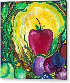 Health Acrylic Print by Susan Cooke Pena