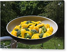 Acrylic Print featuring the photograph Healthy Breakfast by Vadim Levin