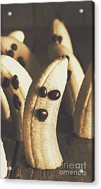Healthy Rustic Trick-or-treat Halloween Snacks Acrylic Print by Jorgo Photography - Wall Art Gallery