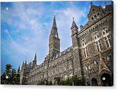 Healy Hall - Georgetown University Acrylic Print