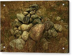 Heap Of Rocks Acrylic Print