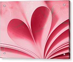 Heart A Flutter Acrylic Print