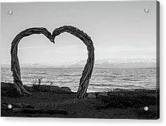 Heart Arch Acrylic Print