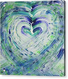 Heart Centered Peace And Love Acrylic Print