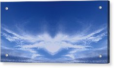 Heart Cloud Acrylic Print