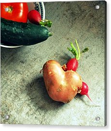 Heart For Lunch Acrylic Print
