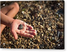 Heart In A Child's Hand Acrylic Print