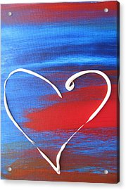 Heart In Motion Acrylic Print by Lindie Racz