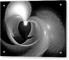 Heart Light Acrylic Print by Holly Ethan