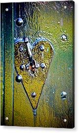 Heart Lock Acrylic Print