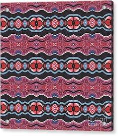 Heart Matters - T J O D 34 Arrangement 1 Tile Acrylic Print