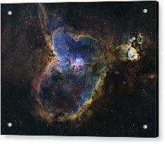 Heart Nebula Acrylic Print by Manuel Huss