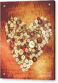 Heart Of A Tailor Acrylic Print by Jorgo Photography - Wall Art Gallery