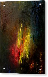Heart Of Art Acrylic Print by Rushan Ruzaick