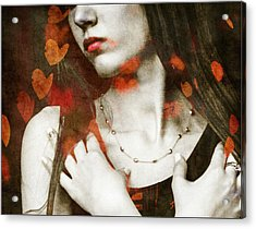 Heart Of Gold Acrylic Print by Paul Lovering