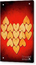 Heart Of Hearts Acrylic Print