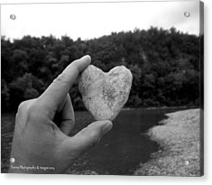 Heart Of Stone Acrylic Print