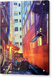 Heart Of The City Acrylic Print