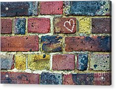 Heart Of The Matter Acrylic Print by Tim Gainey