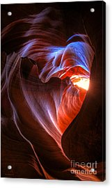 Heart Of The Navajo Acrylic Print