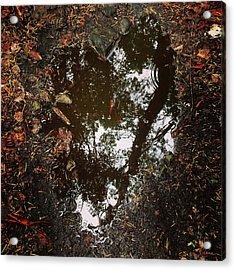 Acrylic Print featuring the photograph Heart Of The Wood by Rasma Bertz