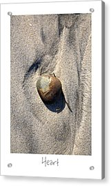 Heart Acrylic Print by Peter Tellone