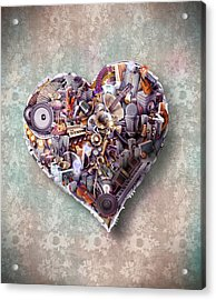Heart Acrylic Print by Robert Palmer