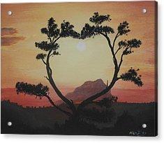 Heart Tree Acrylic Print by Ken Day