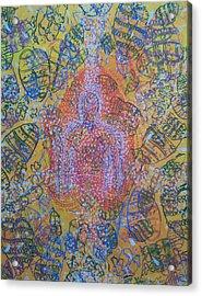 Heart Vortex Acrylic Print