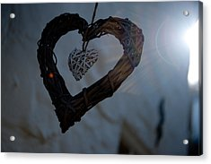 Heart With A Heart II Acrylic Print