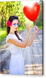 Heartache And Heartbreak Acrylic Print by Jorgo Photography - Wall Art Gallery