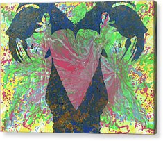 Heartache Acrylic Print