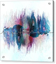 Heartbeat Drama Acrylic Print